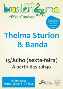 cartaz site Sexta Brasil. thelma