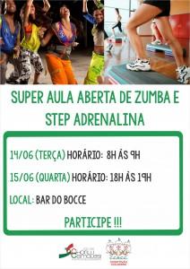 site  Aula zumba e step adrenalina